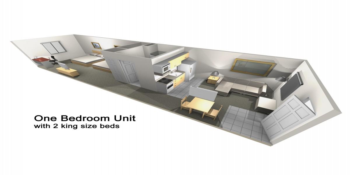 Accessible 2 Queen Suite
